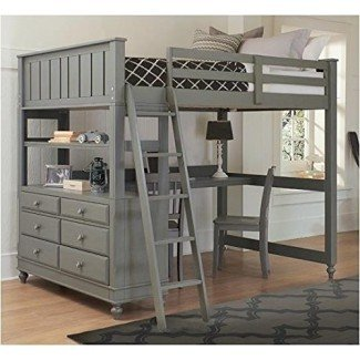 50+ Full Size Loft Bed With Desk You'll Love in 2020 - Visual Hu