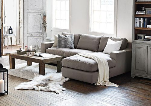 Love the L-shaped couch | Condo living room, Small couches living .