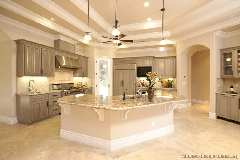 Pictures of Kitchens - Traditional - Gray Kitchen Cabinets .