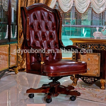 0061 High end Italy executive chair boss chair luxury office chair .