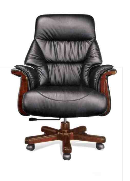 Luxury Leather Office Chair | Leather office chair, Office chair .