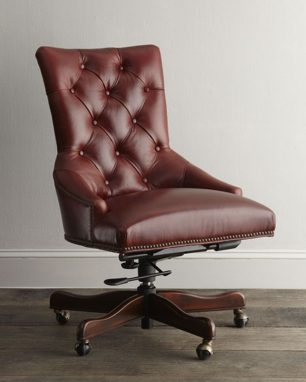 Add luxury and comfort to the office with this cha