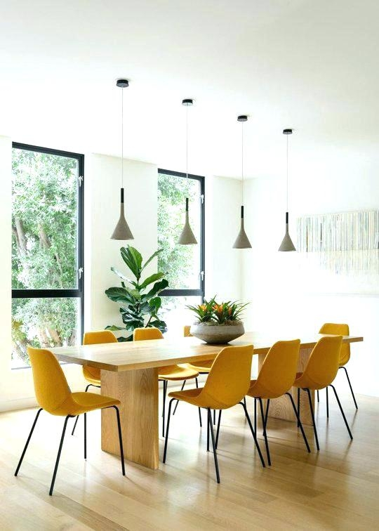 Yellow Dining Room Ideas Chair Market Farm Table Metal Chairs .