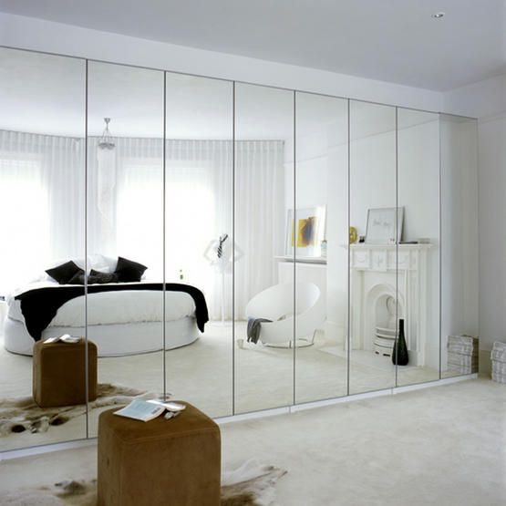 Decorating Bedroom With Mirrors | White mirror bedroom, Mirror .