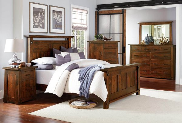 Mission Style Bedroom Furniture - Countryside Amish Furnitu