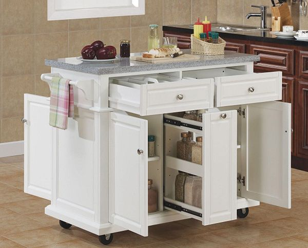 20 Recommended Small Kitchen Island Ideas on a Budget | Movable .