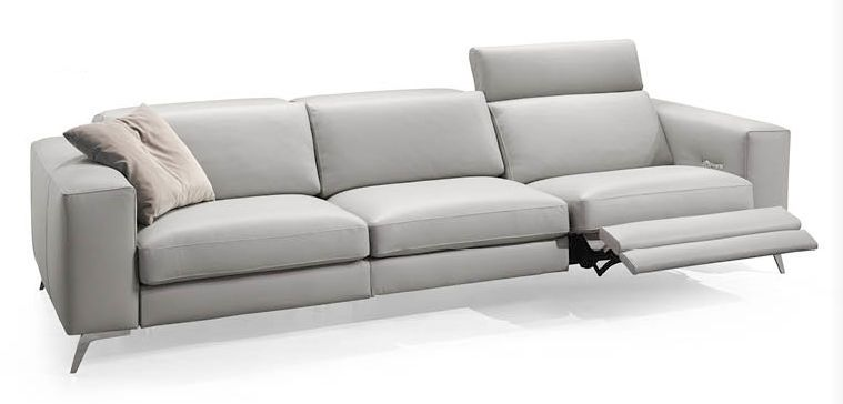 Contemporary sofa / fabric / 3-seater / reclining - MOVING .