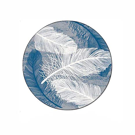 Amazon.com: Simple Modern Round Rug for Living Room Bedroom .