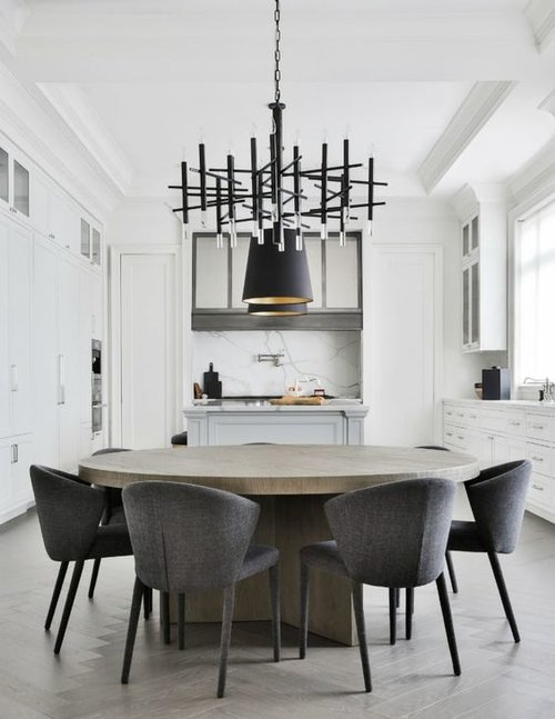 7 Savvy Favorites: Contemporary & Modern Round Dining Room Tables .