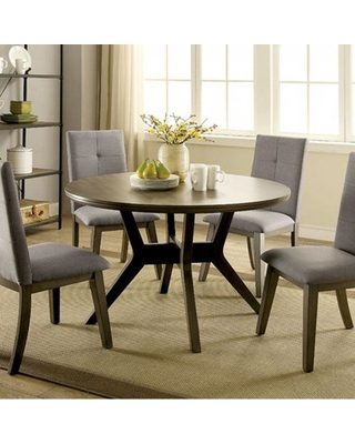 Don't Miss Deals on Abelone Mid-Century Modern Round Dining Table .