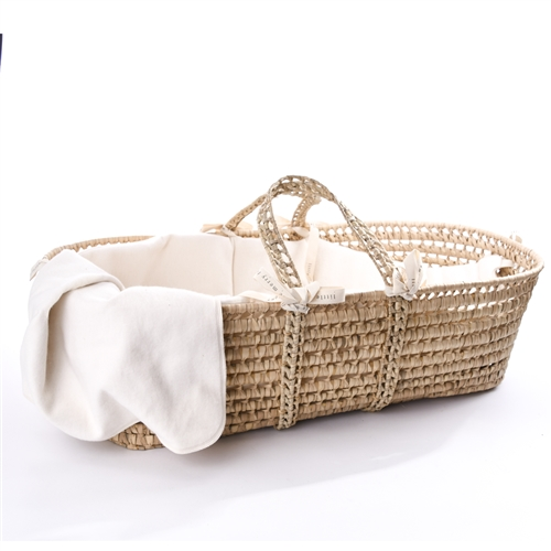Organic Moses Basket | Little Merry Fellows | Made in U