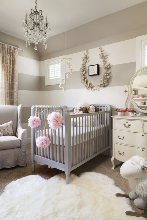 Chic Baby Room Design Ideas - How to Decorate a Nurse