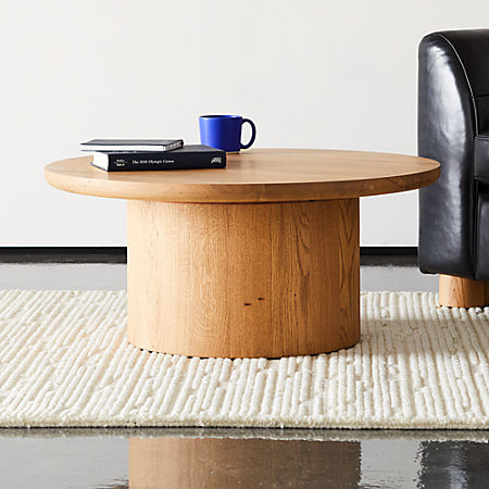 Justice Oak Coffee Table + Reviews | C