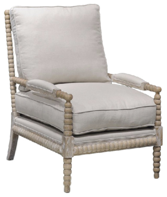 Rupert Occasional Chair - Beach Style - Armchairs And Accent .