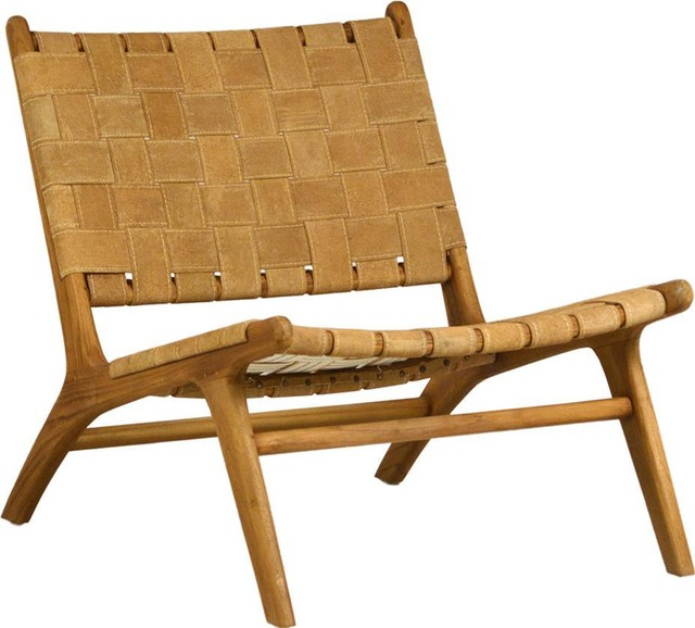 Occasional Chair Modern Contemporary Natural - Midcentury .