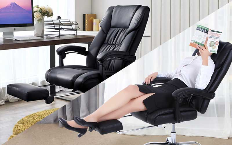 Best Reclining Office Chairs with Footrests (Updated for 2020 .