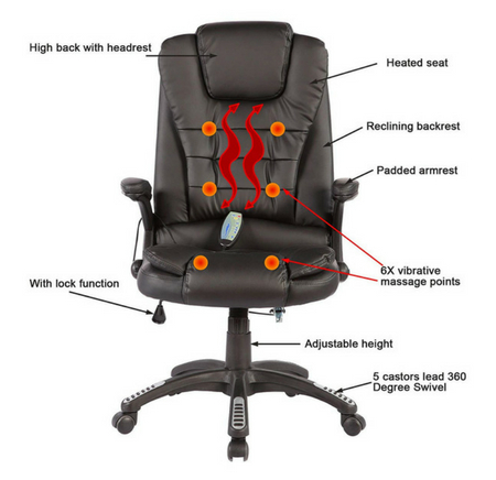 10 Best Ergonomic Massage Office Chairs: Get A Massage at the Offic