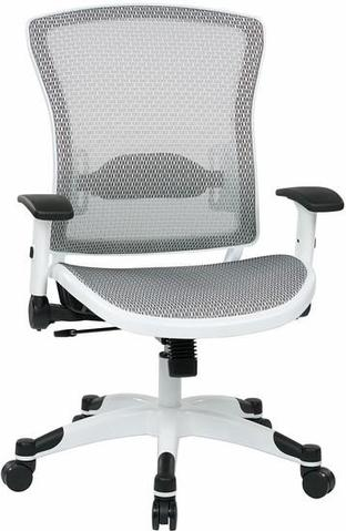 Office Mesh Task chair, White – CostPlus Medical Supp