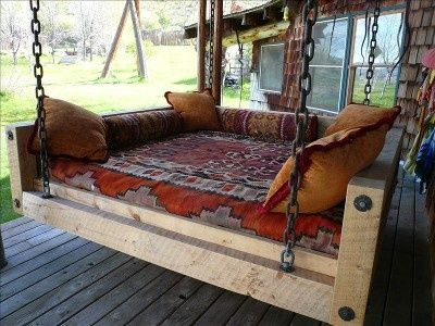 suspended bed ideas | hanging bed ideas | Outdoo