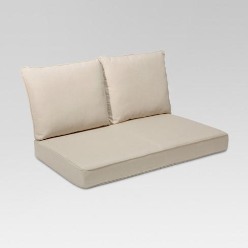 Rolston 3pc Outdoor Replacement Loveseat Cushions - Grand Basket .