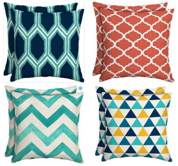 Walmart Outdoor Cushions/Pillows only $5! - MyLitter - One Deal At .