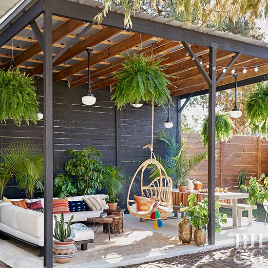 Colorful Backyard Decorating Ideas | Better Homes & Garde