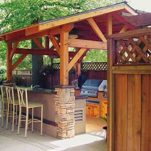 27 Beautiful Outdoor Kitchen Designs Ideas and Simple Plans For .