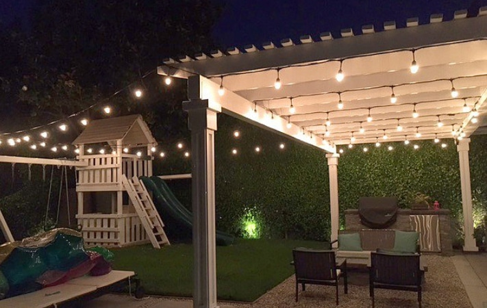 Patio and Bistro String Lights - Light Bulbs Unlimit