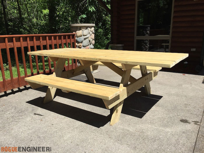 Wheelchair Accessible Picnic Table » Rogue Engine