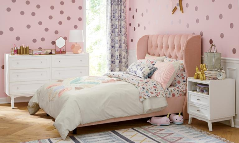 Girls Bedroom Inspiration | Crate and Barr