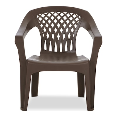 Adams Mfg Corp Big Easy Stackable Plastic Stationary Dining Chair .