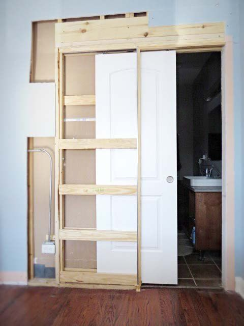 How to Destroy Your Fears: Install a Pocket Door | Home diy, Home .