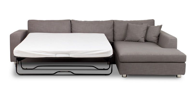 Corner Couch with Pull Out Bed | Pull out bed, Corner couch .
