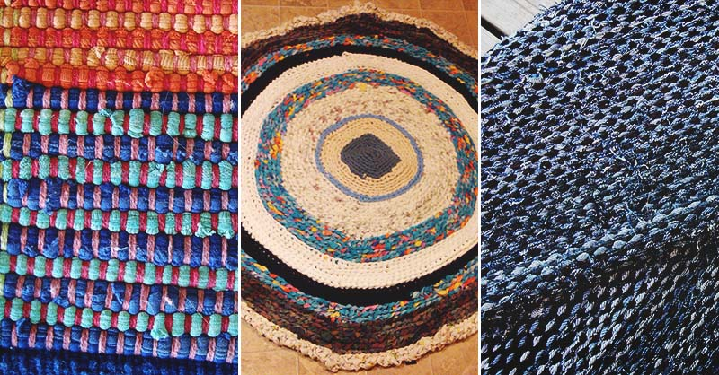 Homemade Rag Rugs Instructions - Easy Craft Ide