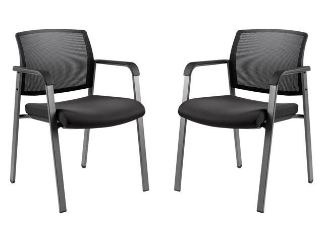 CLATINA Office Reception Chairs with Ergonomic Lumber Support and .
