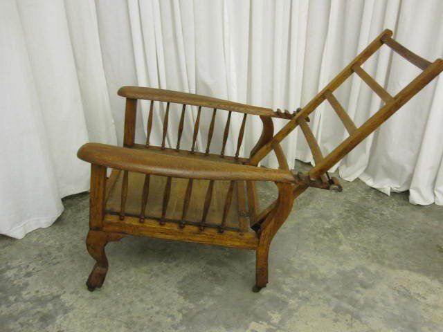 Antique Morris Recliner Chair Victorian Style Awesome | Morris .