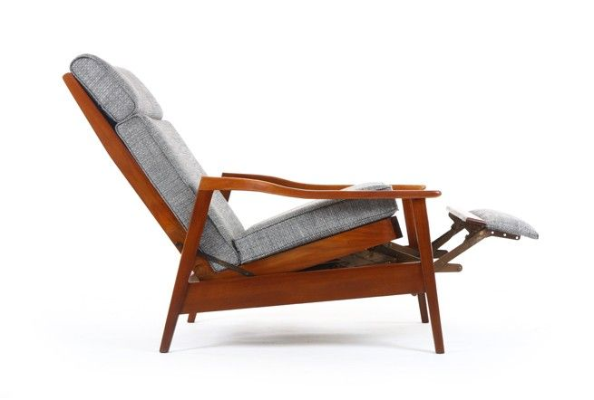 DO YOU LIKE THIS LOOK AT ALL? DON Recliner Armchair with Footstool .