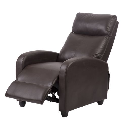 Factory Direct: Recliner Chair Modern Leather Chaise Couch Single .