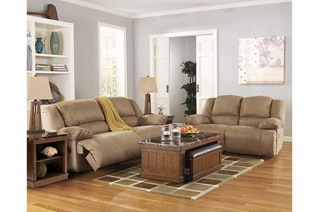 Tan leather recliner couch and loveseat with coffee table for your .
