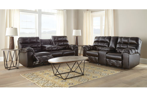Signature Design by Ashley Wardner Reclining Sofa and Loveseat .