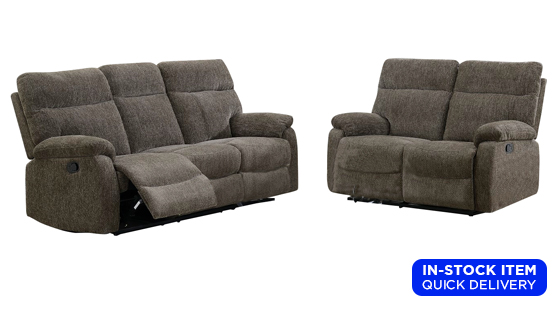 Living Rooms Sets: Shawnessy Reclining Sofa & Loveseat S