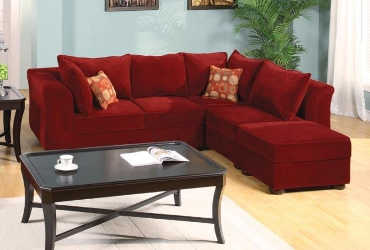 Red Sectional Sofa Bed For Small Spaces With Delightful Modular .