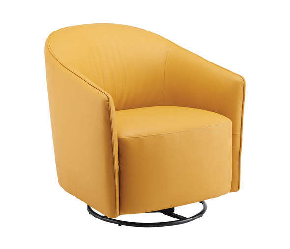 Leather accent chair   Modern Wing Back Cha