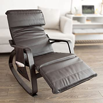 Amazon.com: Haotian Comfortable Relax Rocking Chair with Foot Rest .