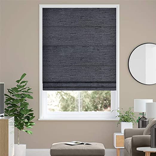 Amazon.com: ALLBRIGHT Blackout Roman Shades, Thermal Insulated UV .