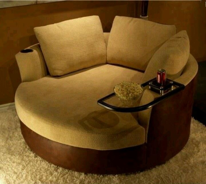 round loveseat | Comfort round sofa chair | Home Decor This could .