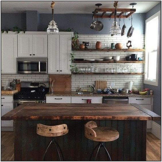 50+Incredible Rustic Kitchen Ideas in 2019 – Crushappy Blog .