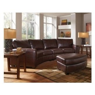 Curved Leather Sectional Sofa - Ideas on Fot