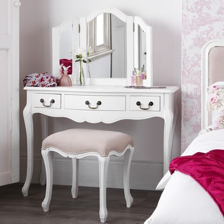 Details about SHABBY CHIC White Bedroom Furniture, Bedside Tables .