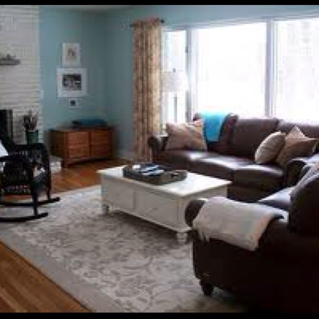 You can attain shabby chic using dark sofas. We have dark brown .